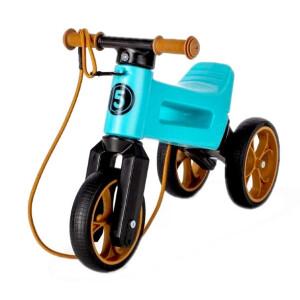 Bicicleta fara pedale Funny Wheels Rider SuperSport 2 in 1 Aqua